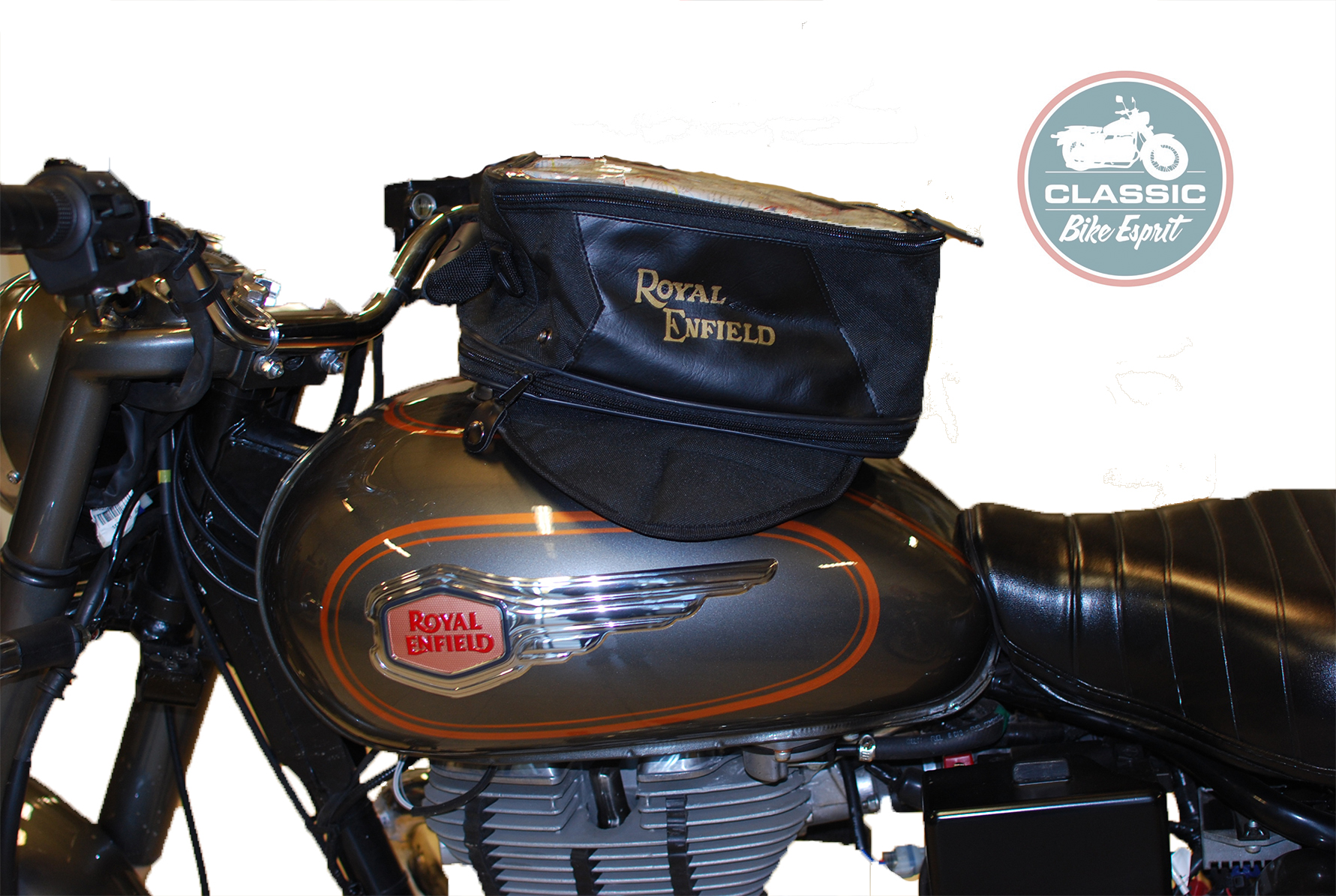 sac magn tique royal enfield classic bike esprit. Black Bedroom Furniture Sets. Home Design Ideas